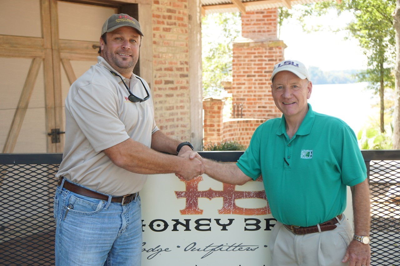 Honey Brake makes historic $1 million pledge to Louisiana 4-H