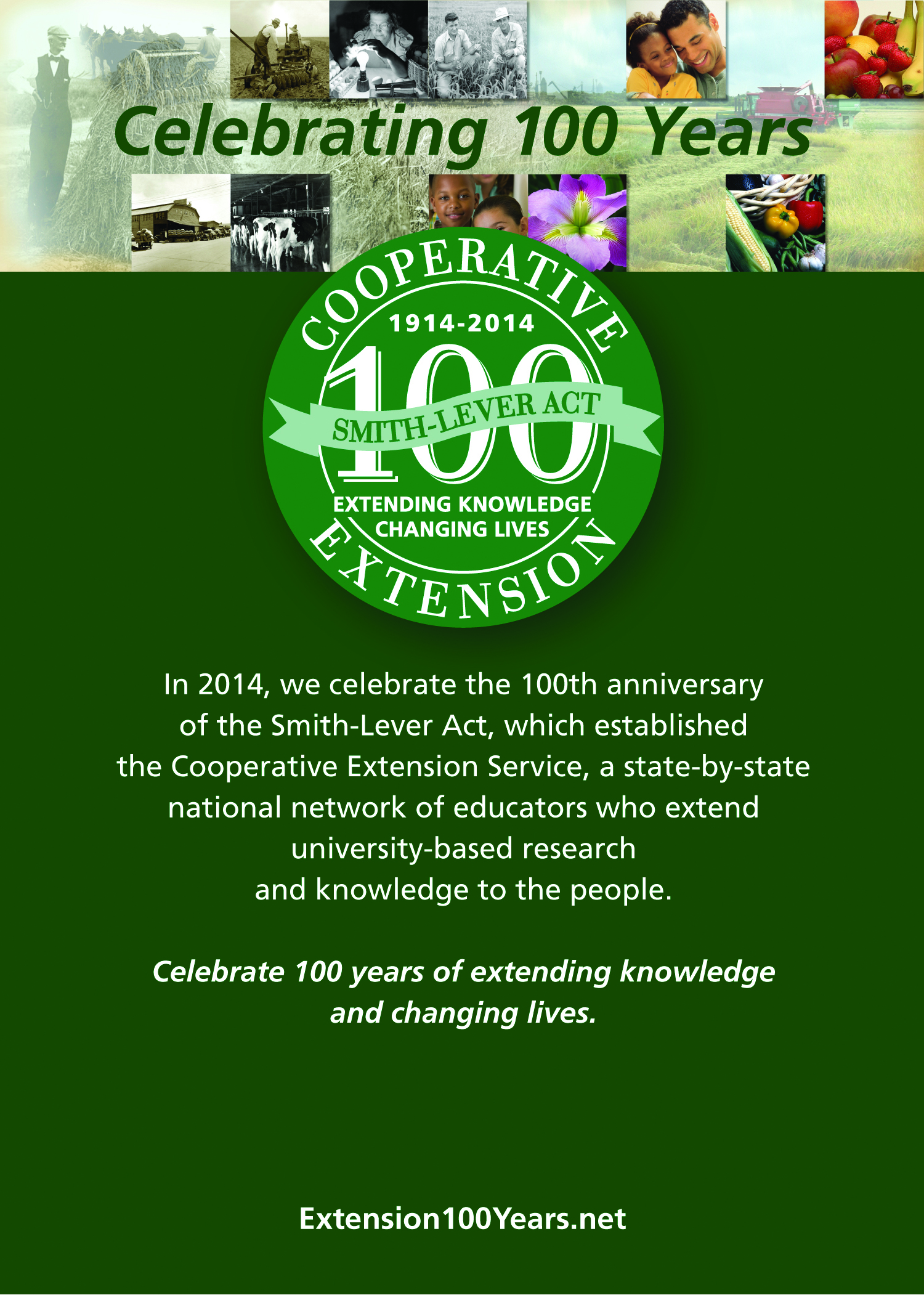 Smith-Lever Extension Centennial Celebration Toolkit