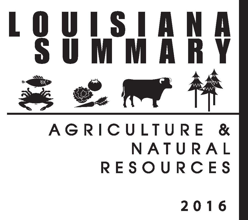 2016 Louisiana Summary: Agriculture and Natural Resources