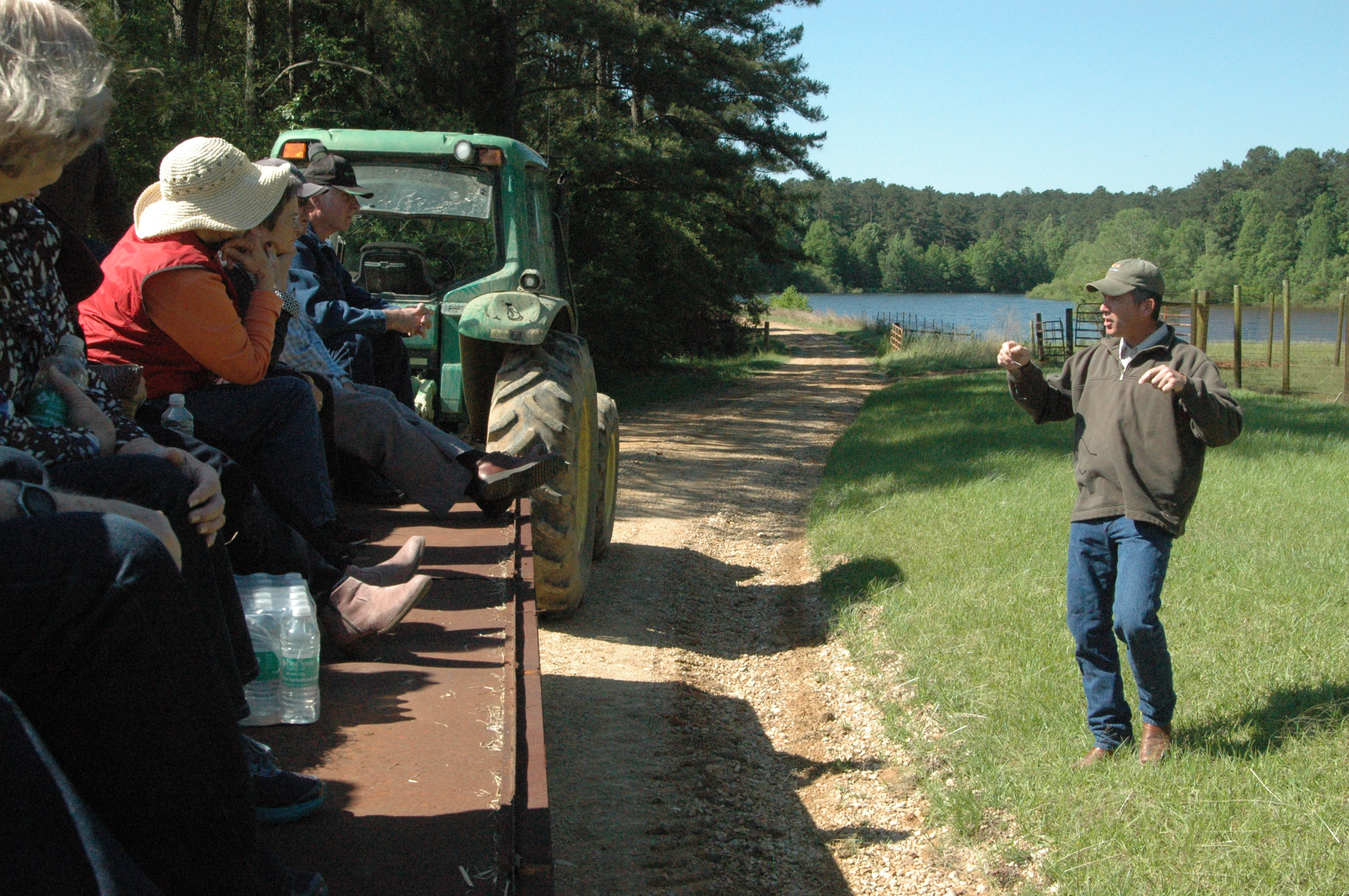 Forestry association hears about research at Bob R. Jones-Idlewild Research Station
