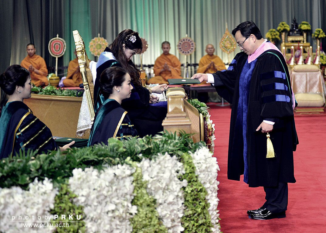 LSU AgCenter professor awarded honorary degree in Thailand
