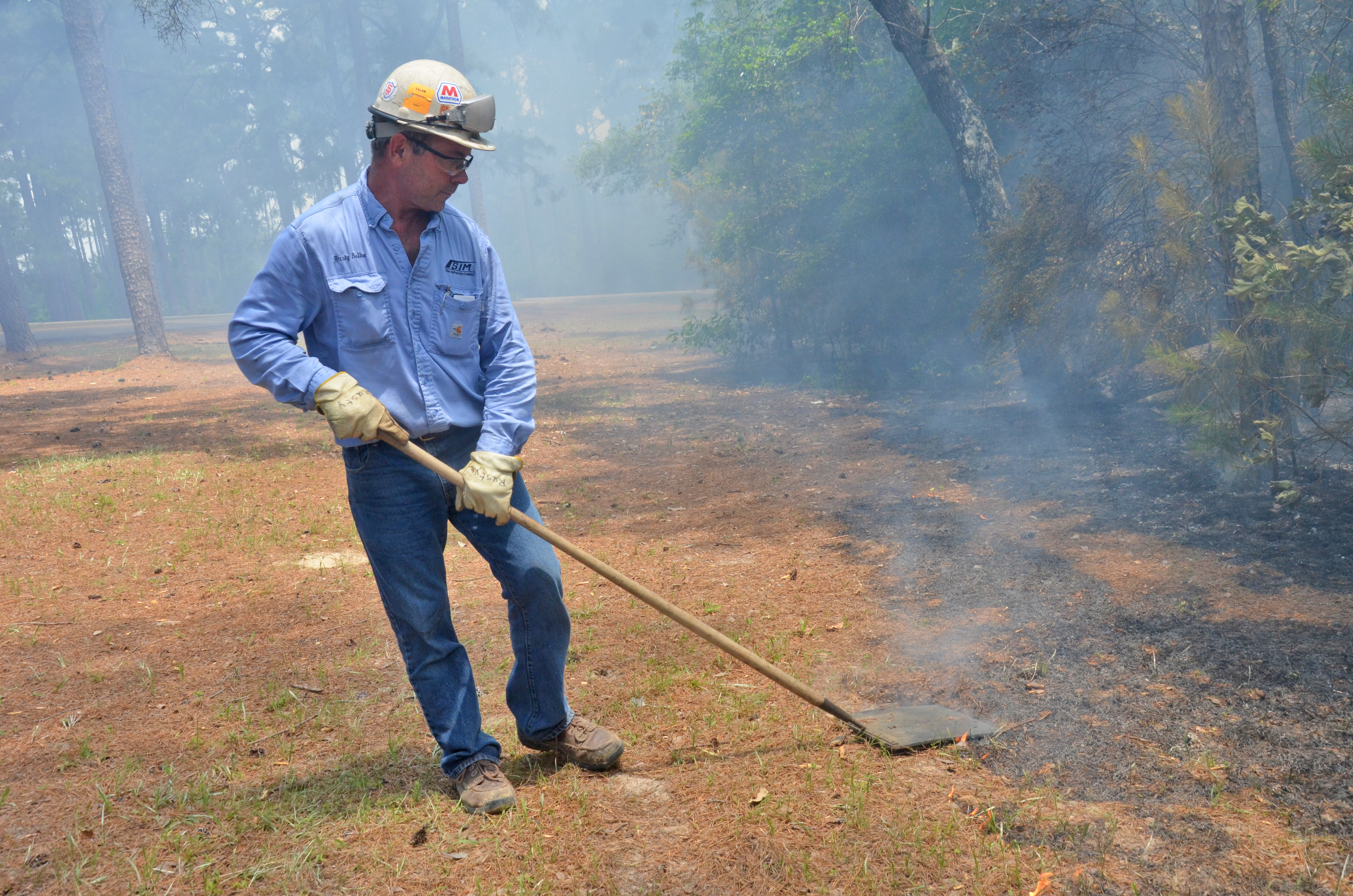 Workshop teaches prescribed forest burning