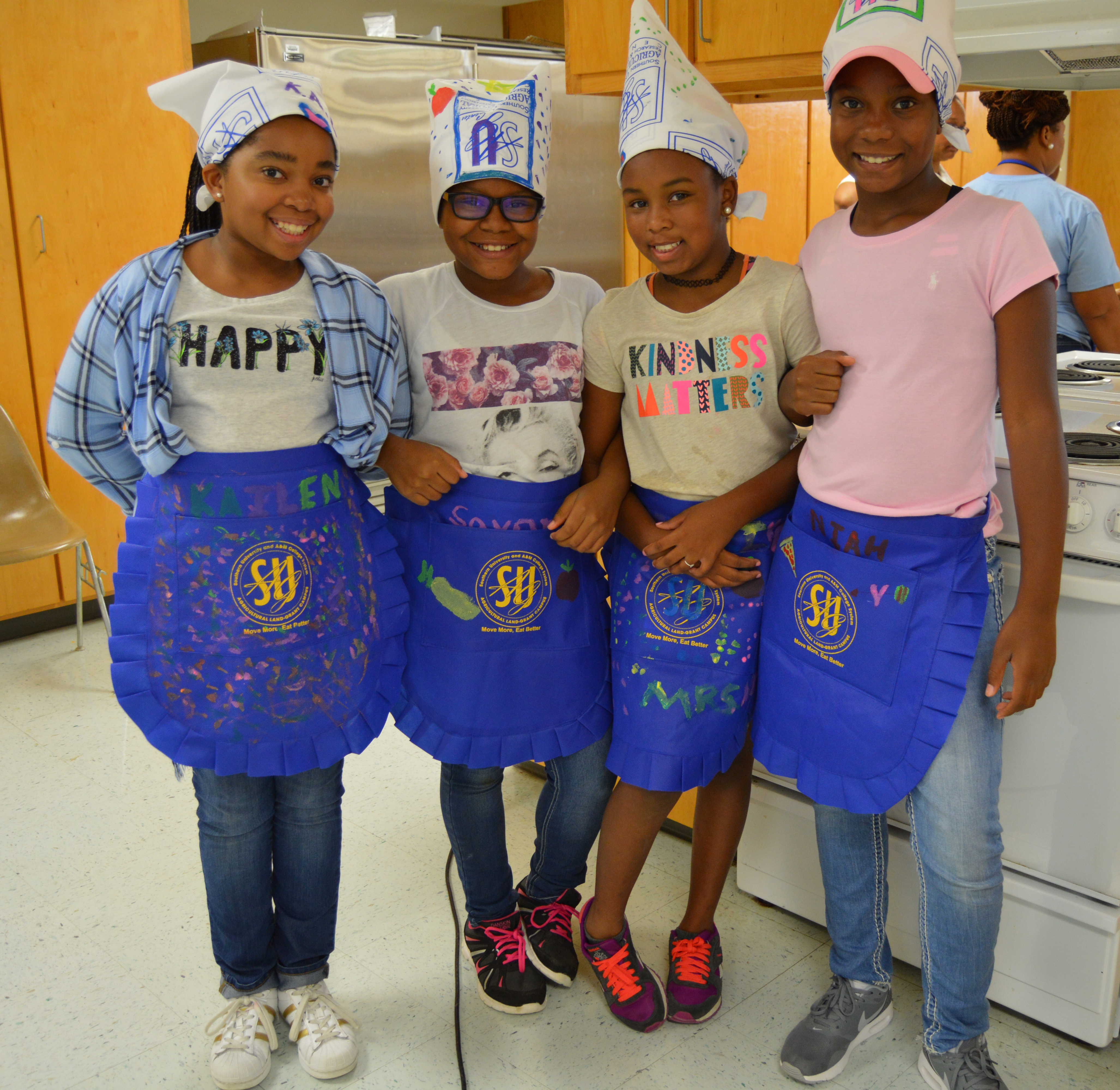 Youth Learn Nutrition, Food Safety, Healthy Lifestyle at CHEF Camps