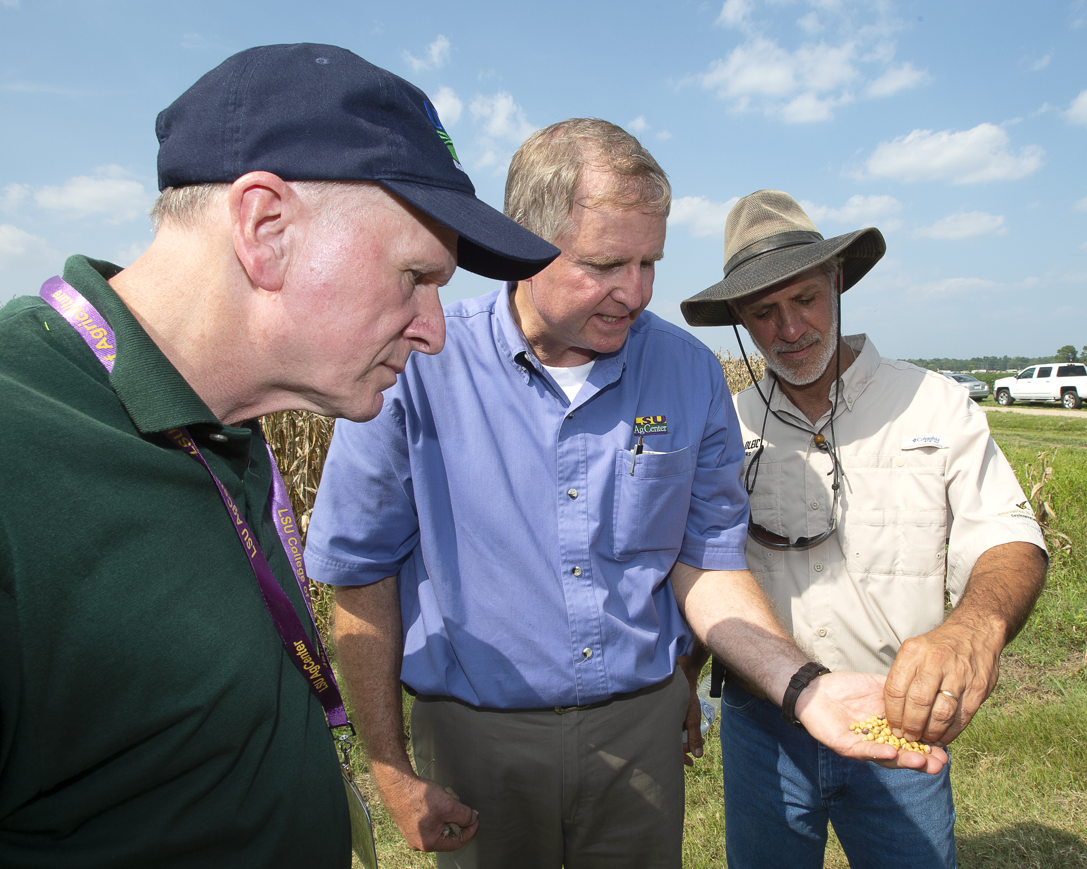U.S. Department of Agriculture officials visit LSU AgCenter