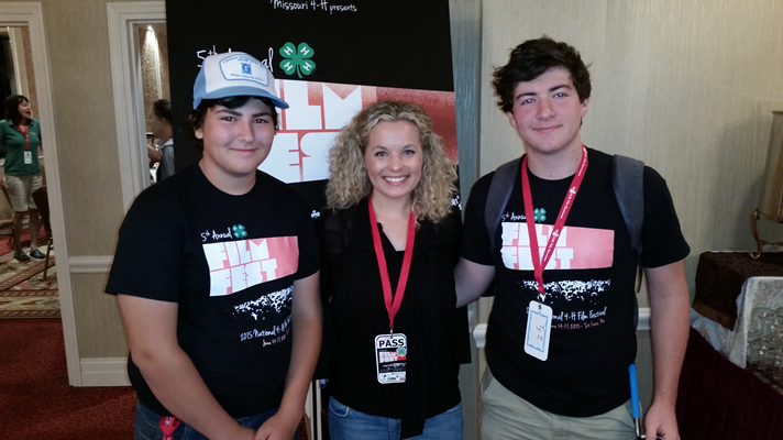 Zaunbrecher brothers with Erica Ibsen