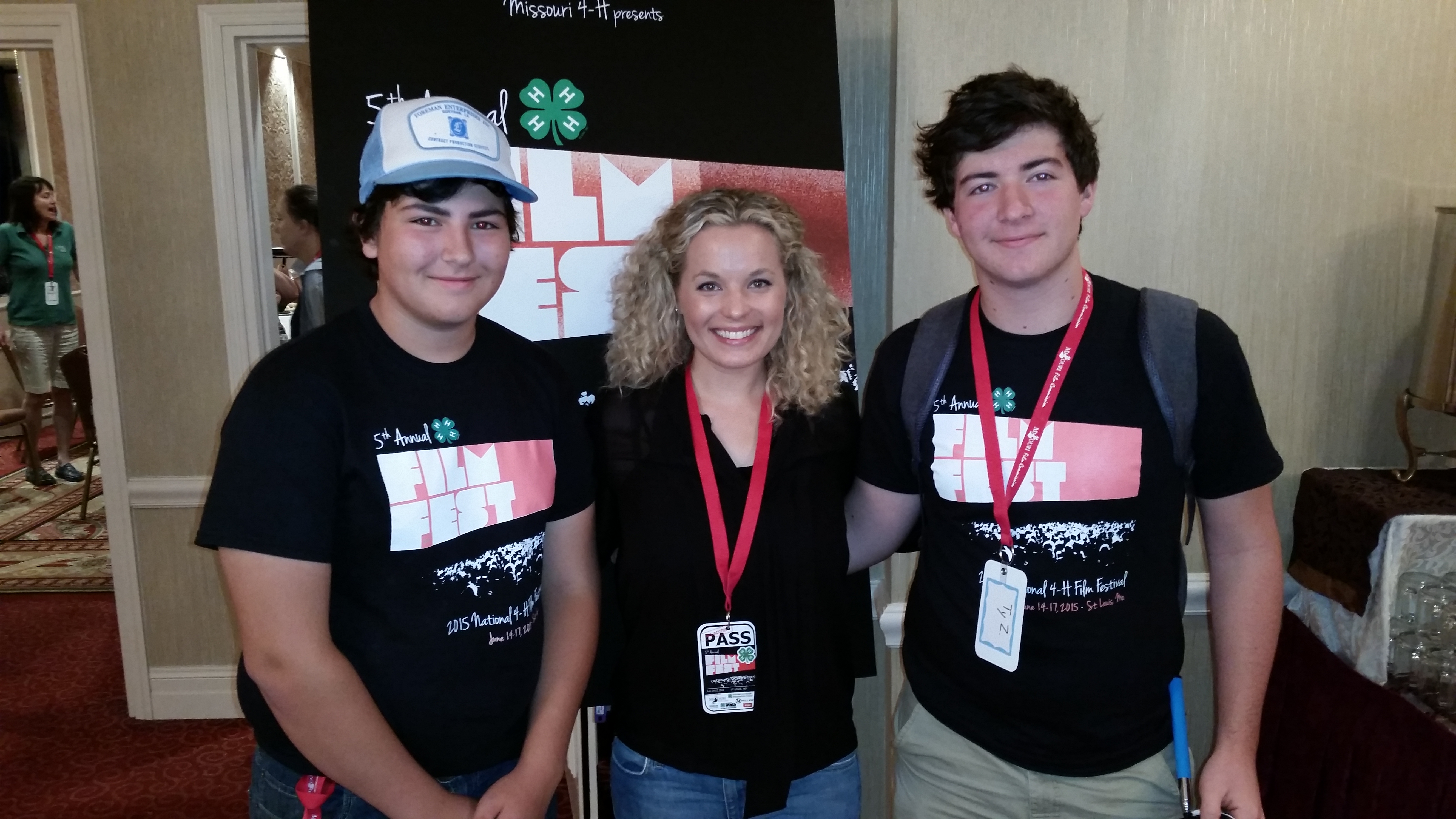 Louisiana 4-Hers win national film festival award
